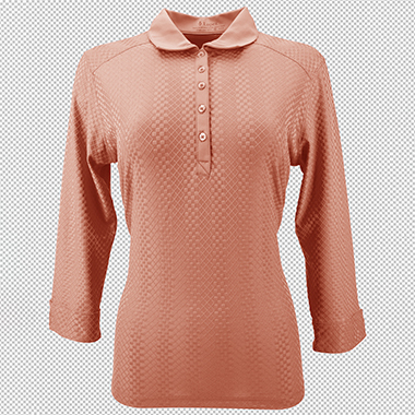 Nancy_lopez_orange_full_sleeve_golf_polo_after_color_corrected_in_transparent_background