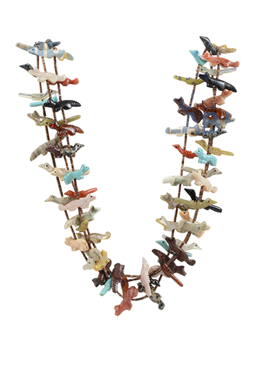 an origami necklace with nicely done Clipping path- After