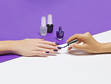 Skin retouching for hand holding nail polish by clipping path zone team