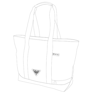 Vector Conversion of tote Bag shape drawing by Clipping path zone