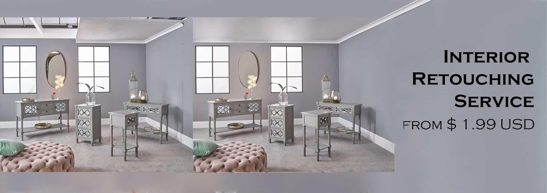 Interior Retouching
